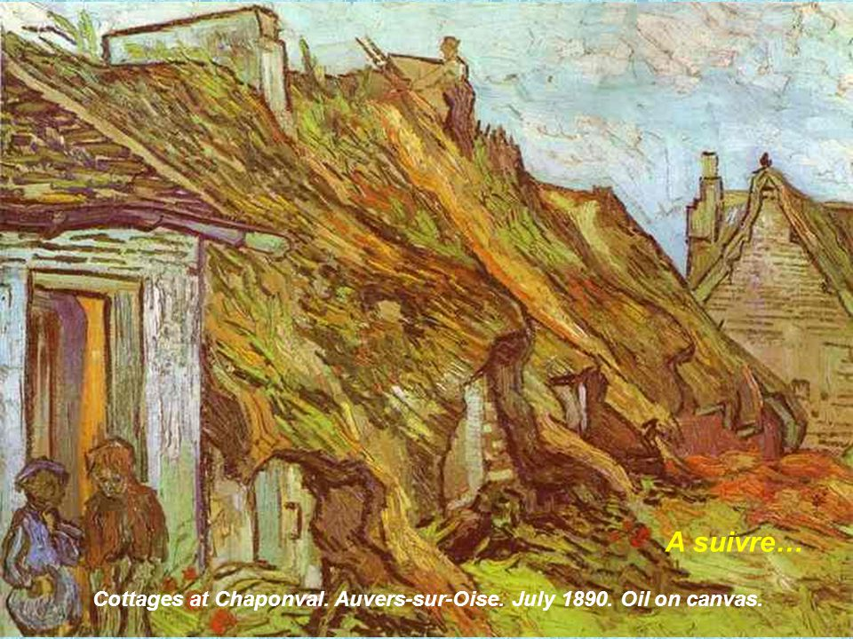 Village Street in Auvers. Auvers-sur-Oise. May 1890. Oil on canvas.