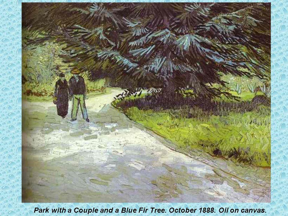 Irises. Sait-Rémy. May 1889. Oil on canvas.