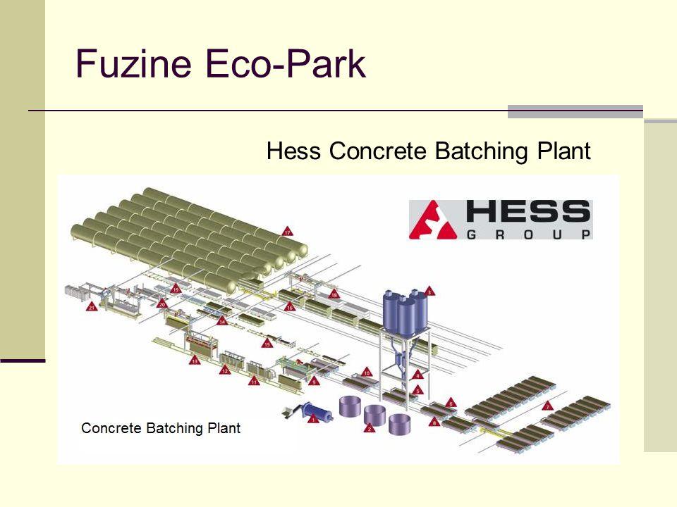 Fuzine Eco-Park Hess Concrete Batching Plant
