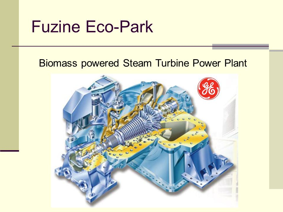 Fuzine Eco-Park Biomass powered Steam Turbine Power Plant