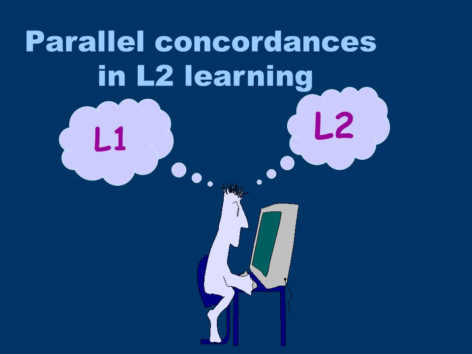 L1 L2 Parallel concordances in L2 learning