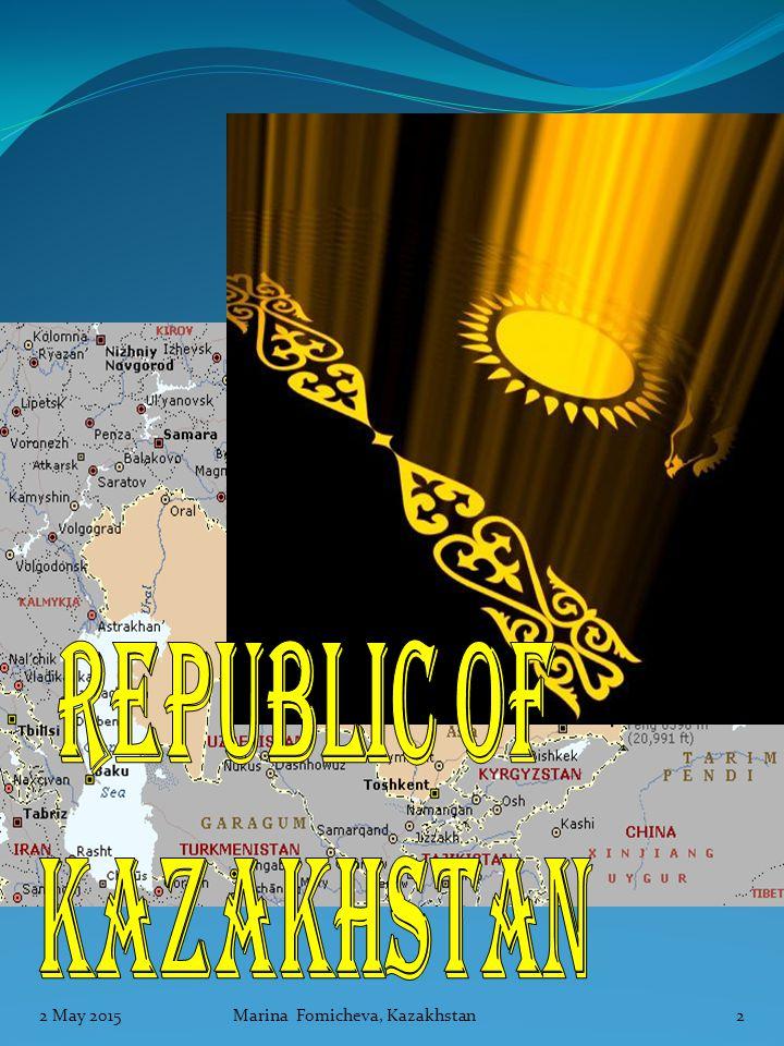 LESSON PLANS 2 May 2015 Marina Fomicheva, Kazakhstan13
