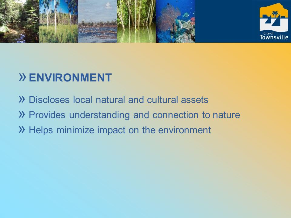 In a nutshell » Ecotourism involves: » meaningful community participation & cultural protection » business development and local economy » environmental protection and conservation