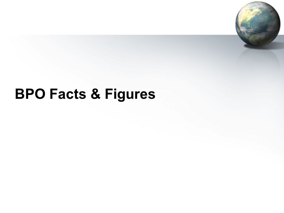 BPO Facts & Figures