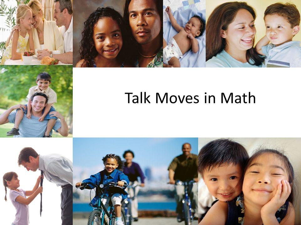 1 Talk Moves in Math