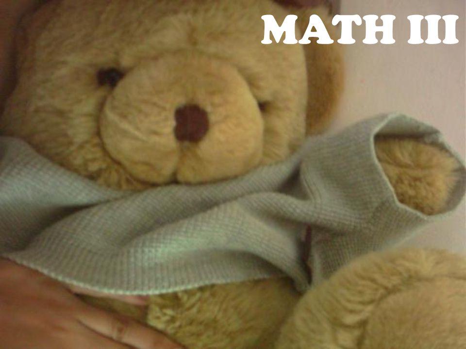 MATH III