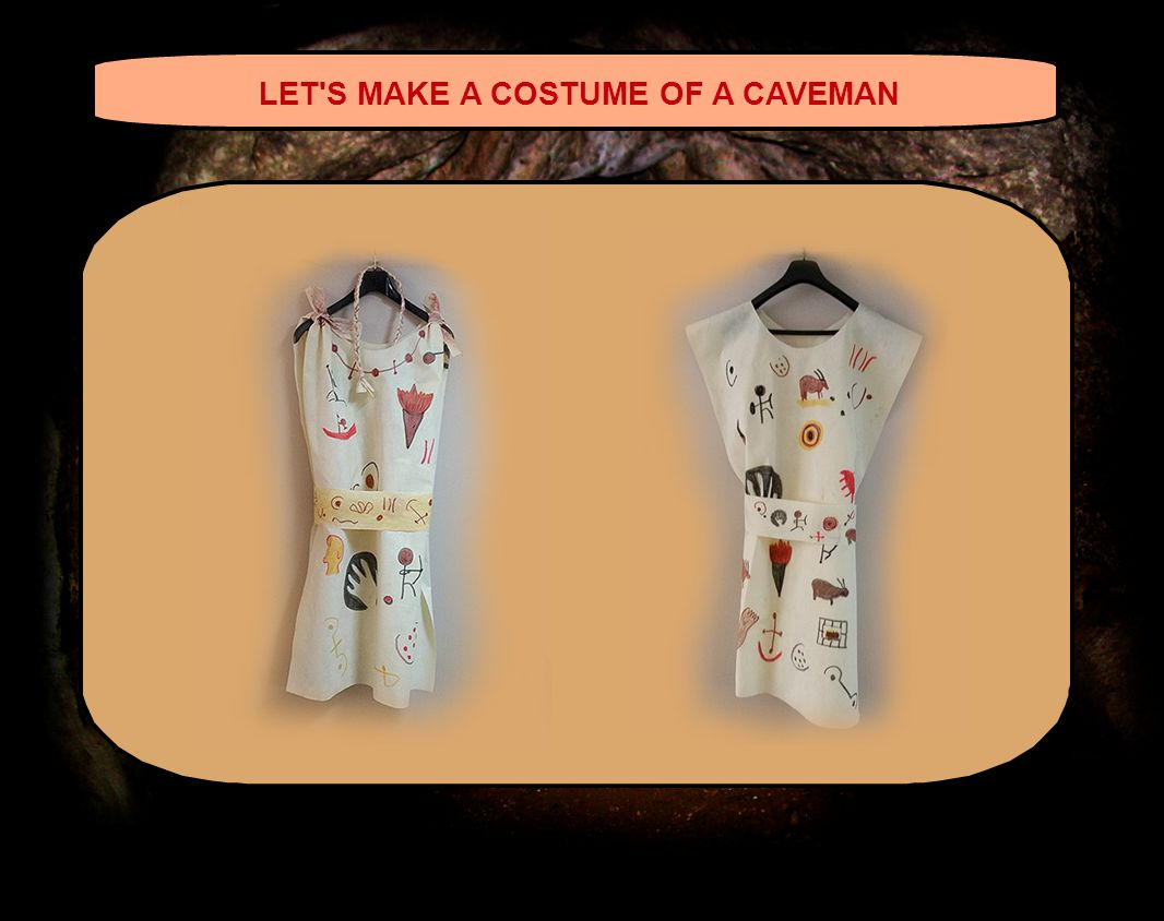 LET S MAKE A COSTUME OF A CAVEMAN º