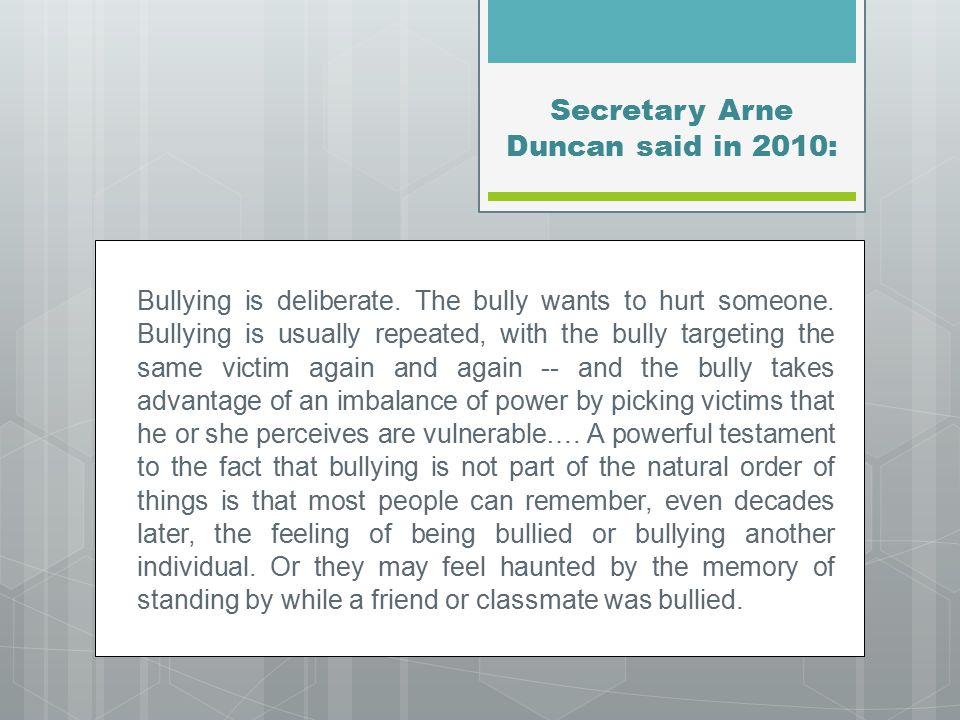 Words of Caution  Investigate in order to determine if bullying occurred  What's reported may just be tip of the iceberg  Staff must be aware of the board policy, aware of the duty to report, and to WHOM to report.