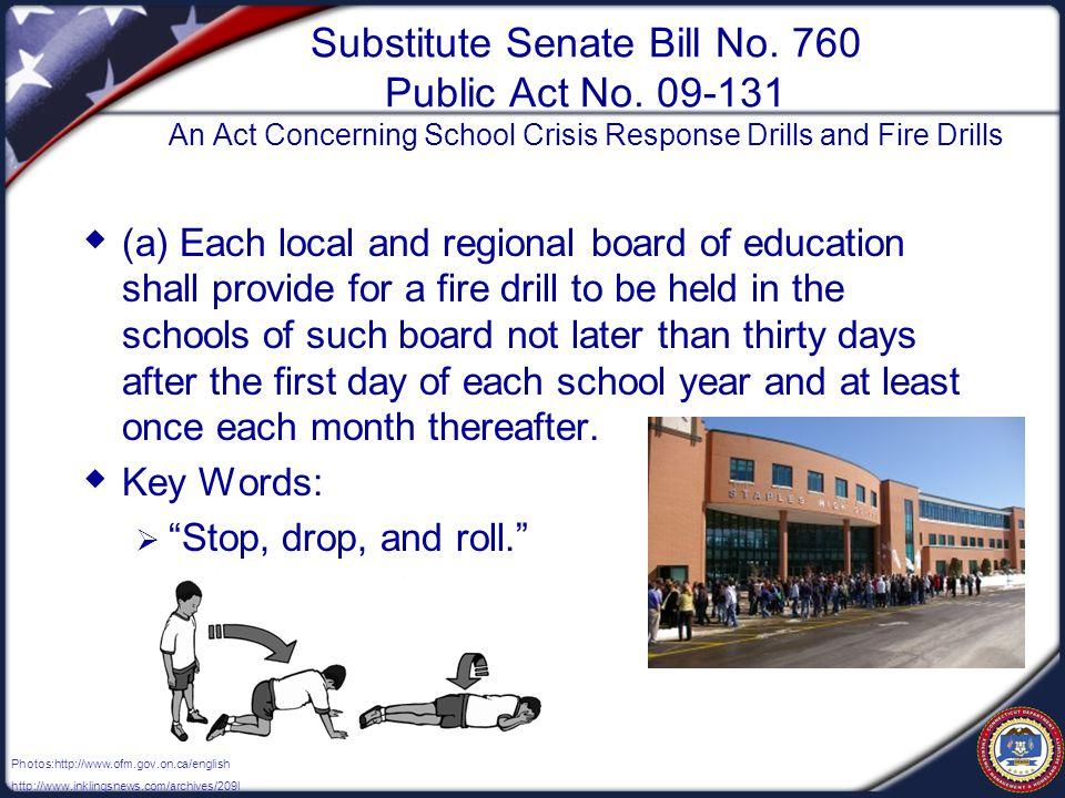 Substitute Senate Bill No. 760 Public Act No.