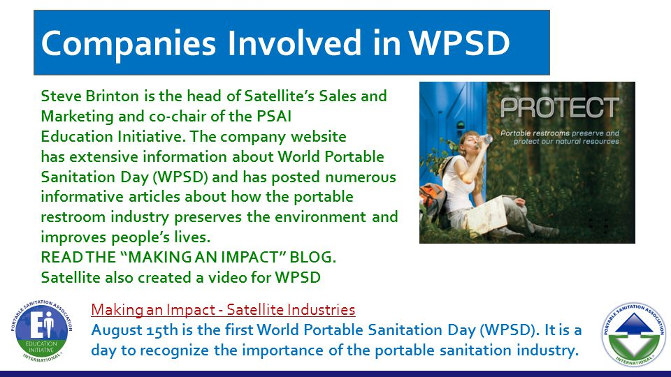 Steve Brinton is the head of Satellite's Sales and Marketing and co-chair of the PSAI Education Initiative.