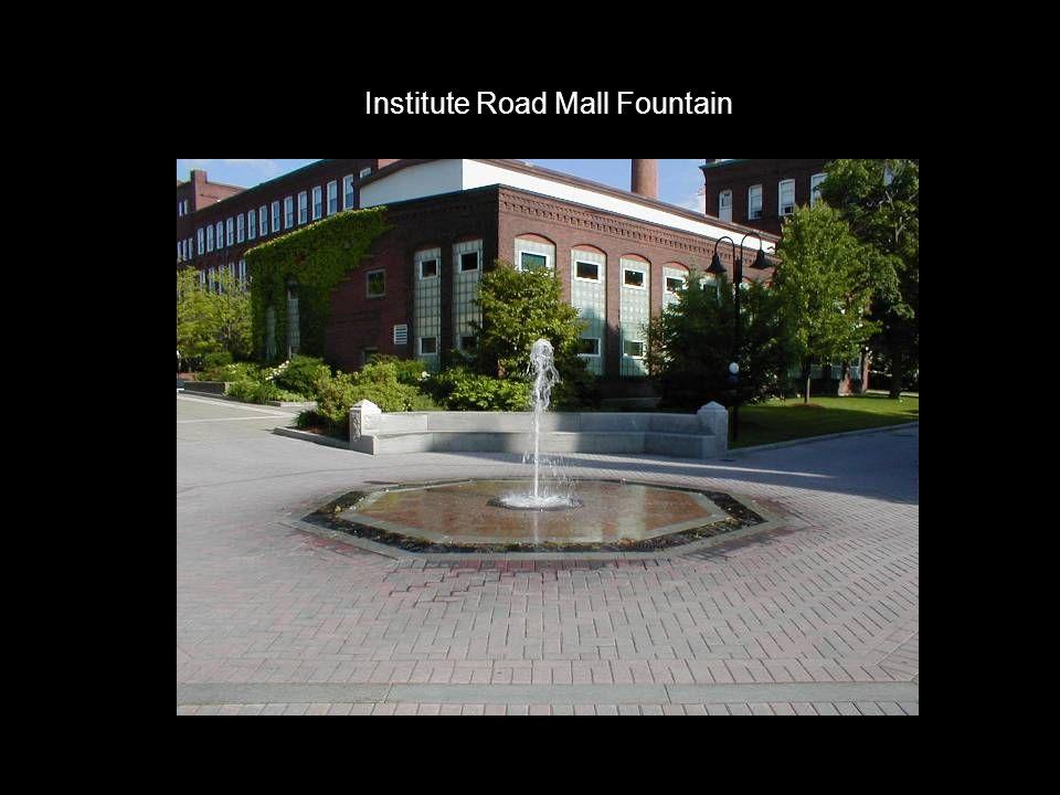 Institute Road Mall Fountain