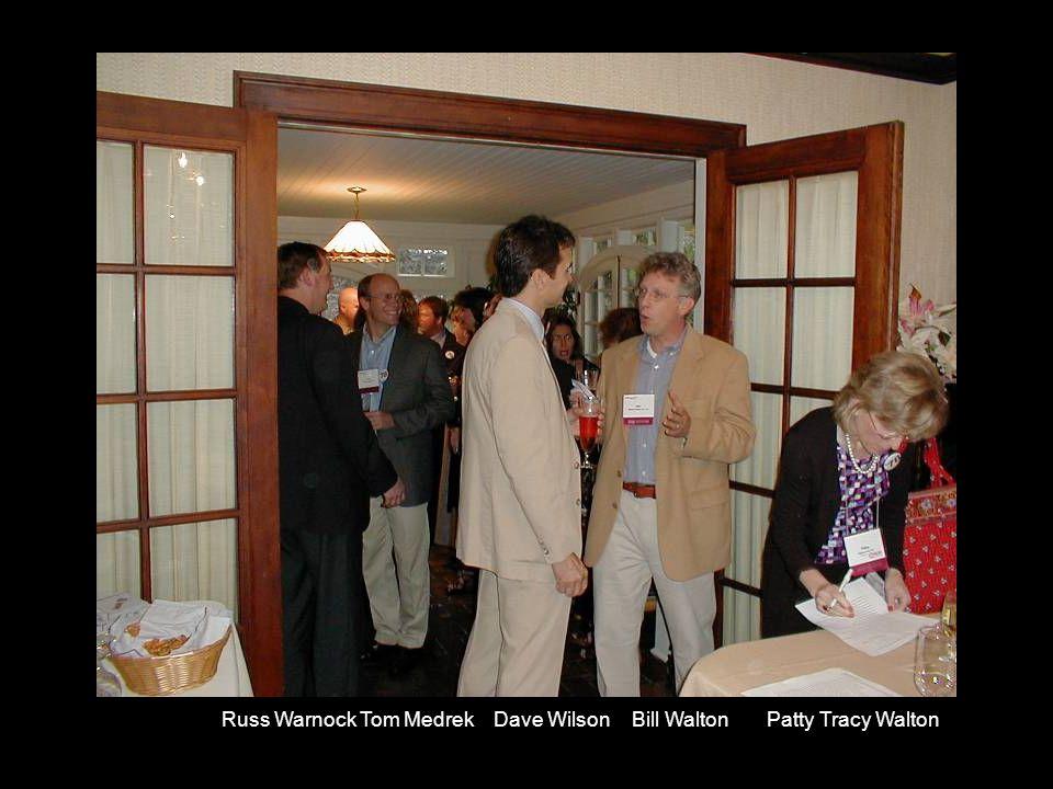 Russ Warnock Tom Medrek Dave Wilson Bill Walton Patty Tracy Walton