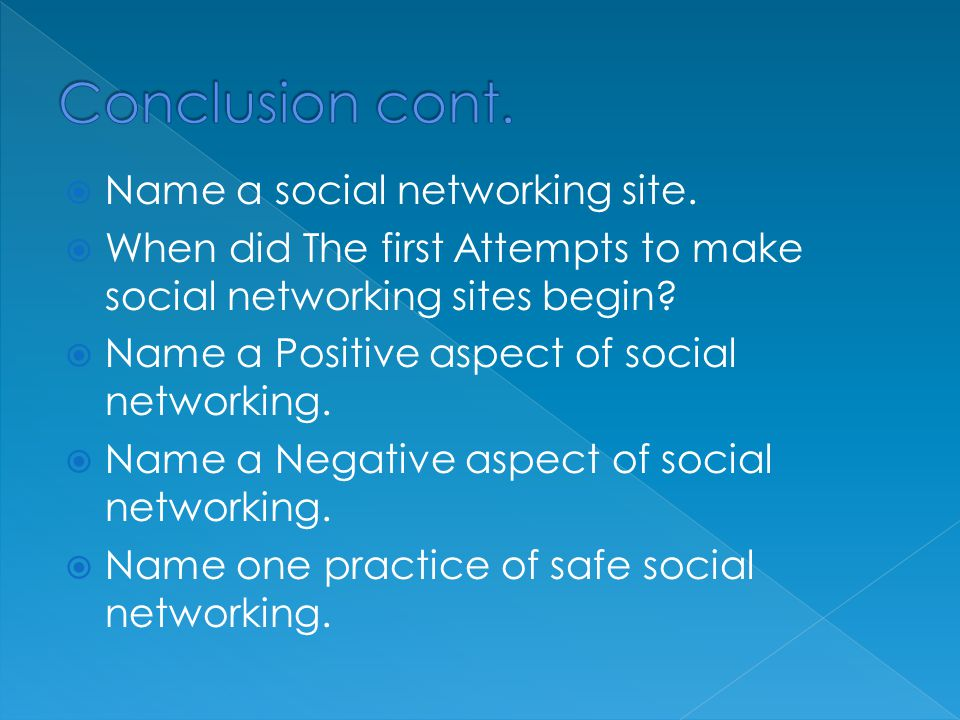  Name a social networking site.
