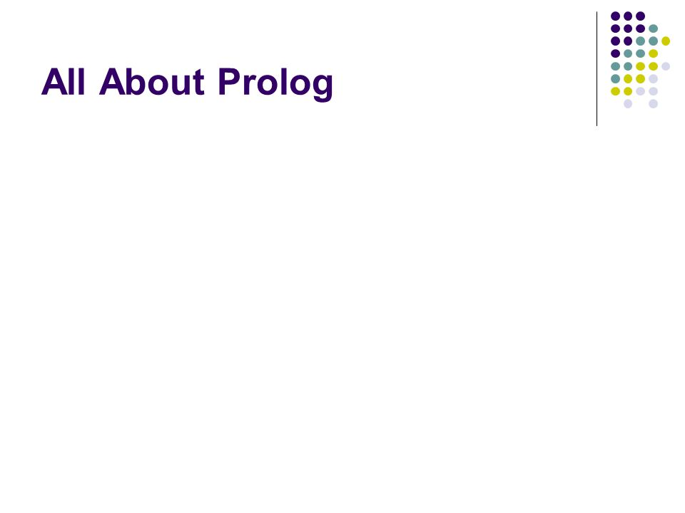 All About Prolog