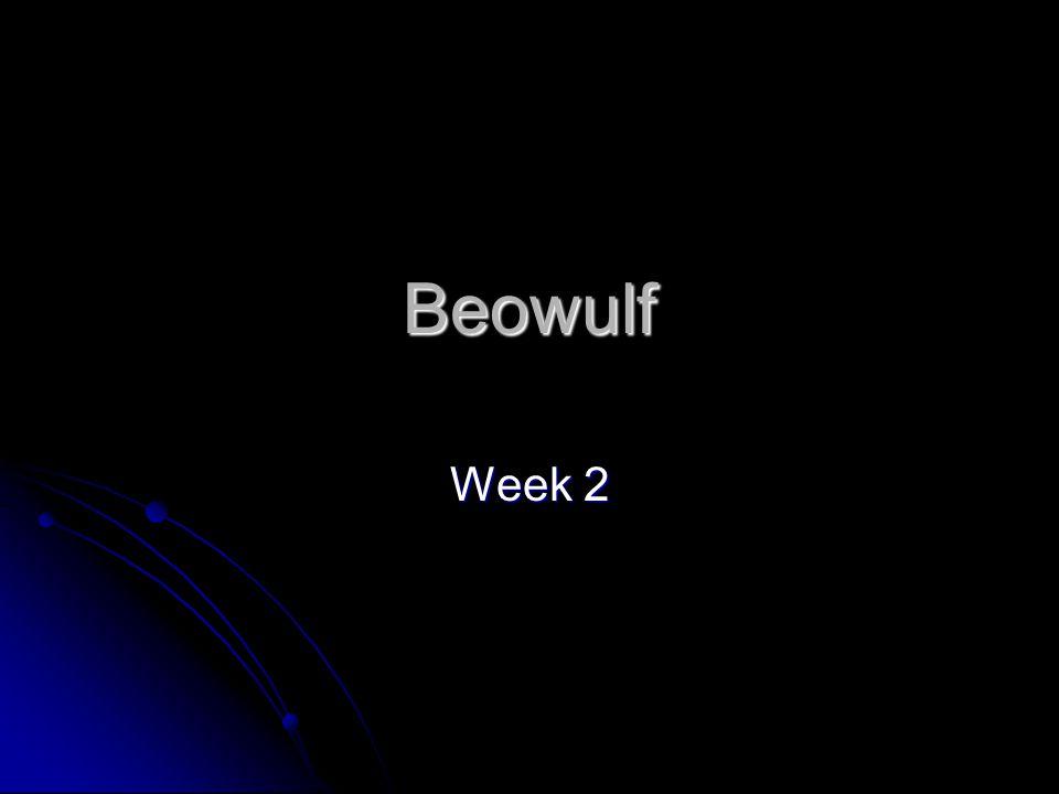 Beowulf Week 2