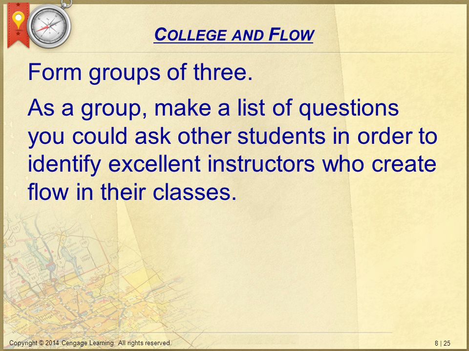 8 | 25 Copyright © 2014 Cengage Learning. All rights reserved.