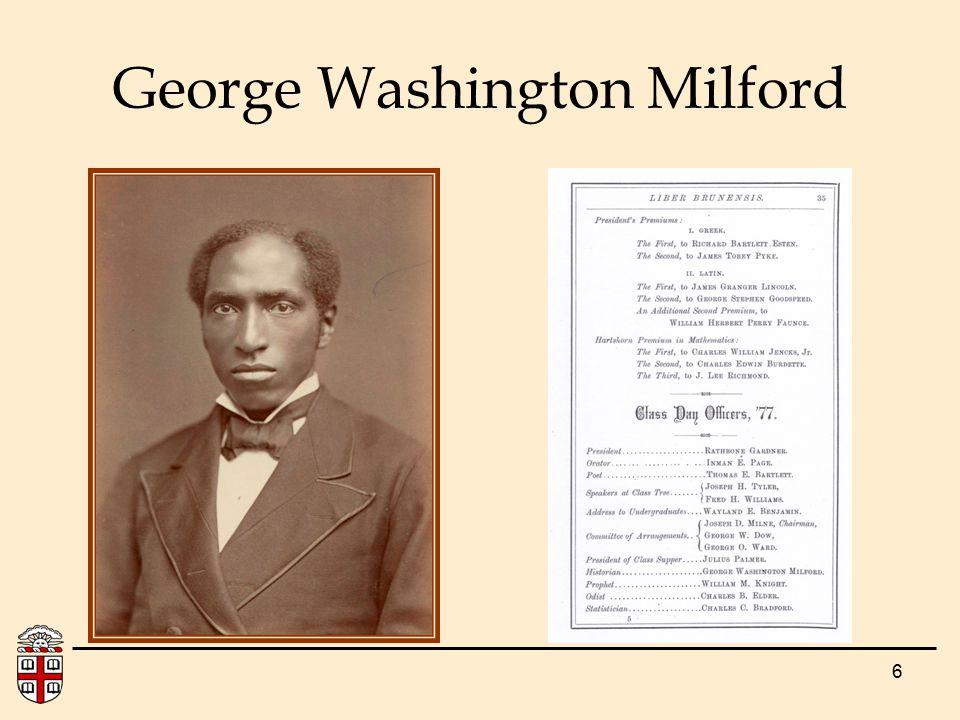 6 George Washington Milford