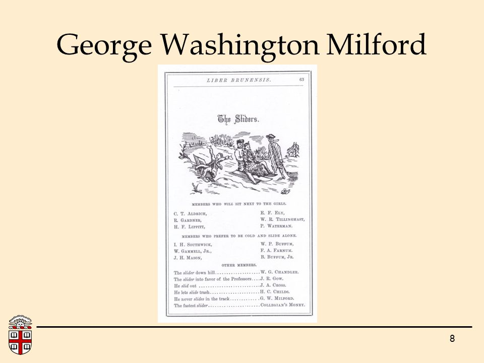 8 George Washington Milford