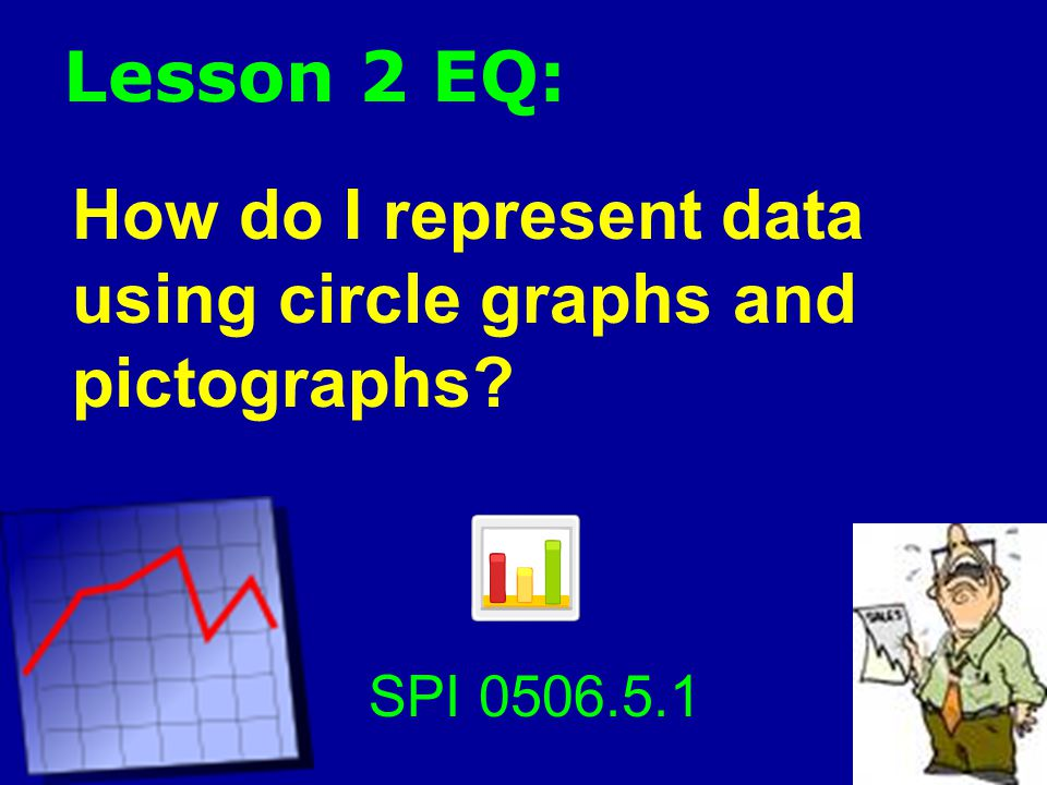 Lesson 2 EQ: How do I represent data using circle graphs and pictographs SPI 0506.5.1