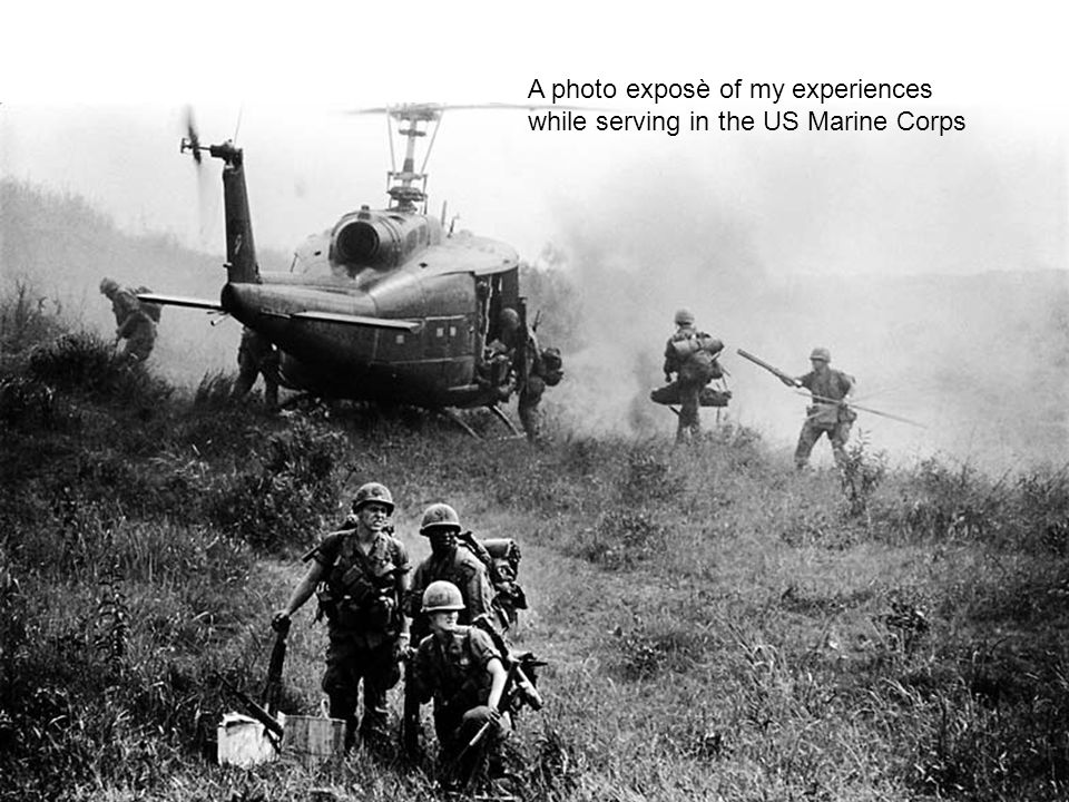A photo exposè of my experiences while serving in the US Marine Corps