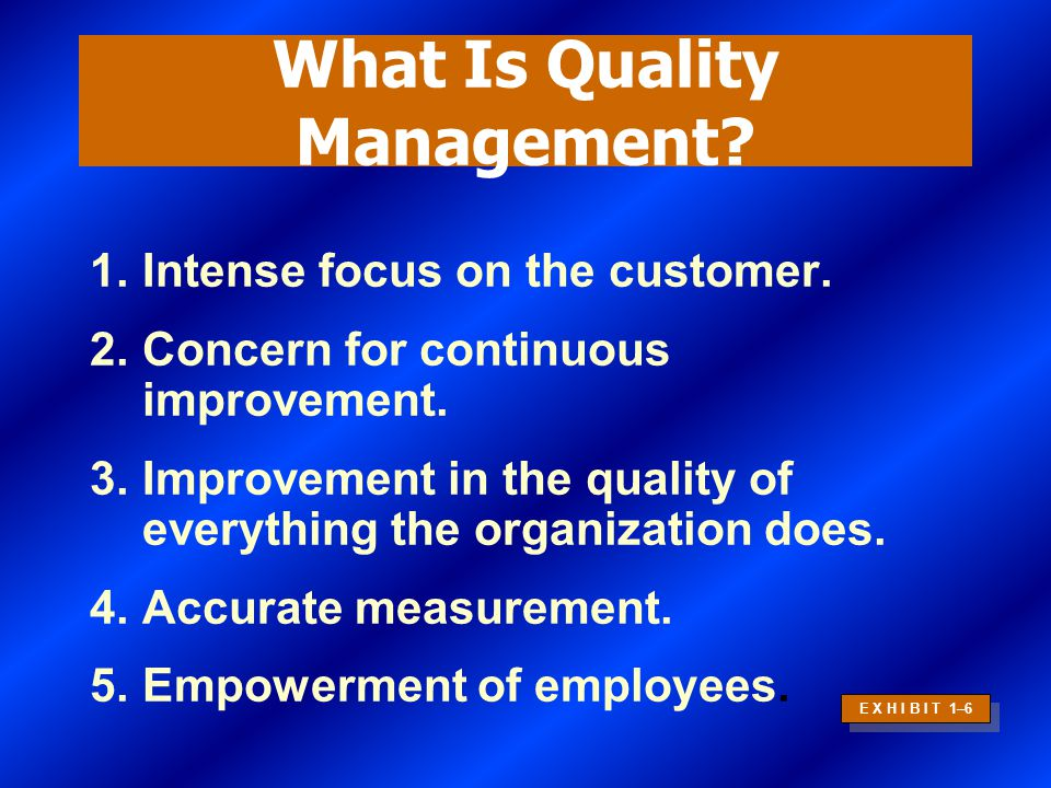 Improving Quality and Productivity Total Quality ManagementCorporateReengineering