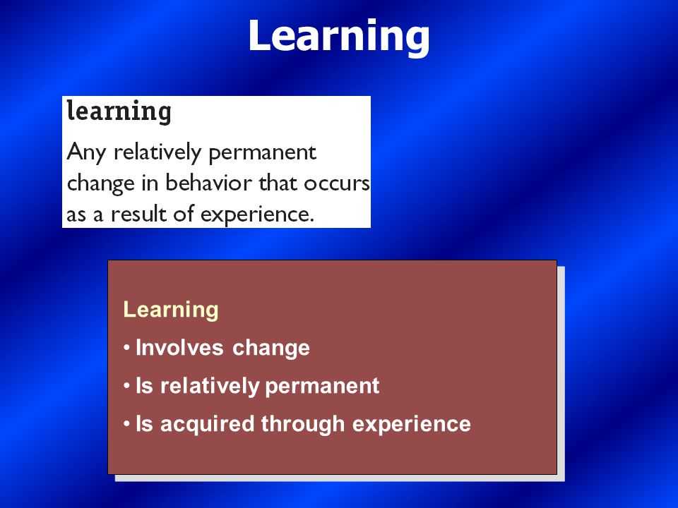 SocialLearning ClassicalConditioningOperantConditioning What Is Learning