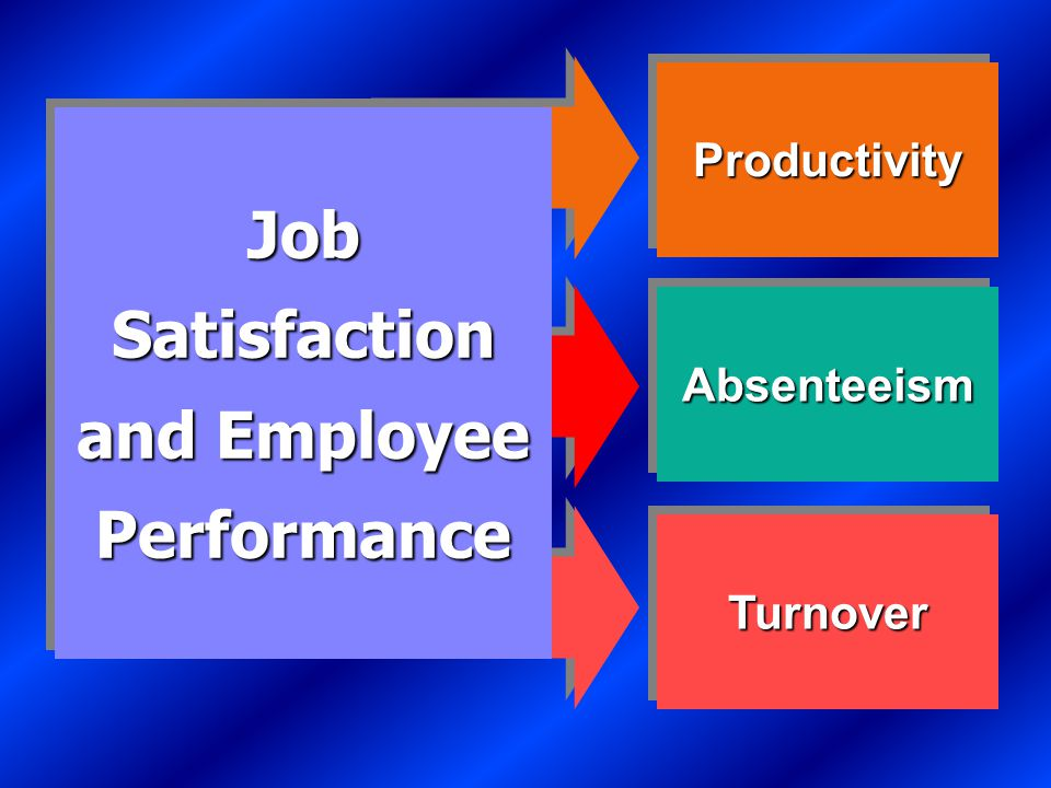 Causes of Job Satisfaction Pay influences job satisfaction only to a point.