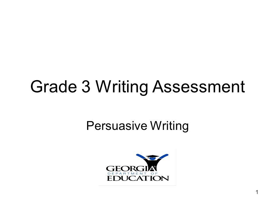 Grade 3 Persuasive Writing12 Persuasive Paper 1