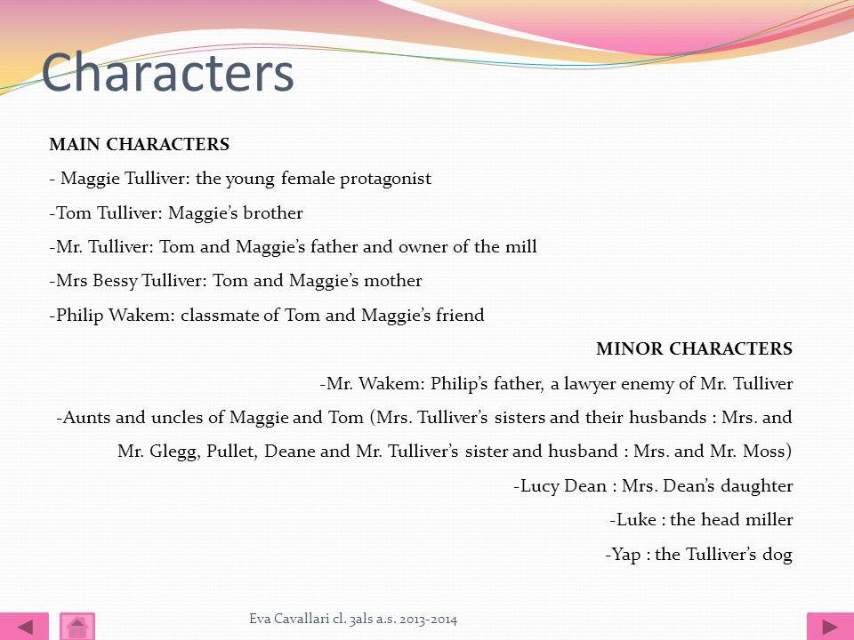 Characters Eva Cavallari cl. 3als a.s.