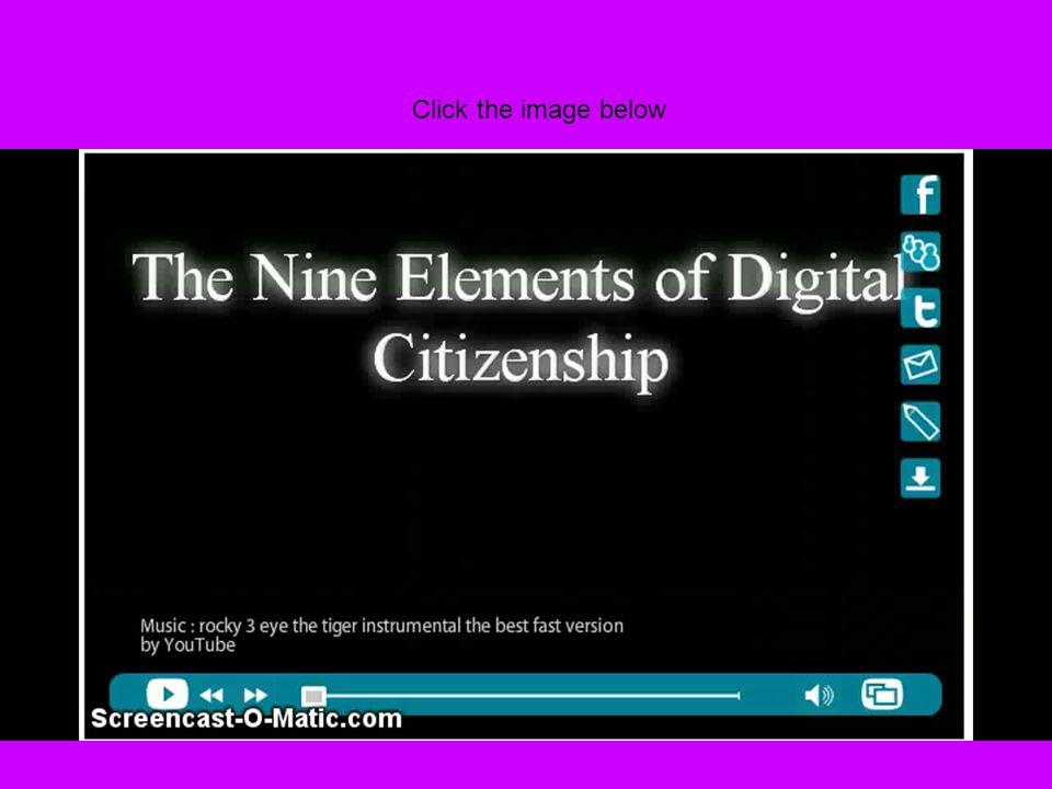 Nine Themes of Digital Citizenship Digital access Digital communication Digital commerce Digital etiquette Digital health and wellness Digital law Digital literacy Digital rights and responsibilities Digital security