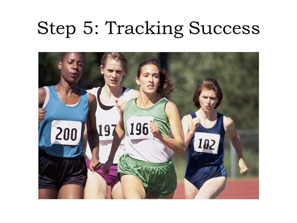 Step 5: Tracking Success