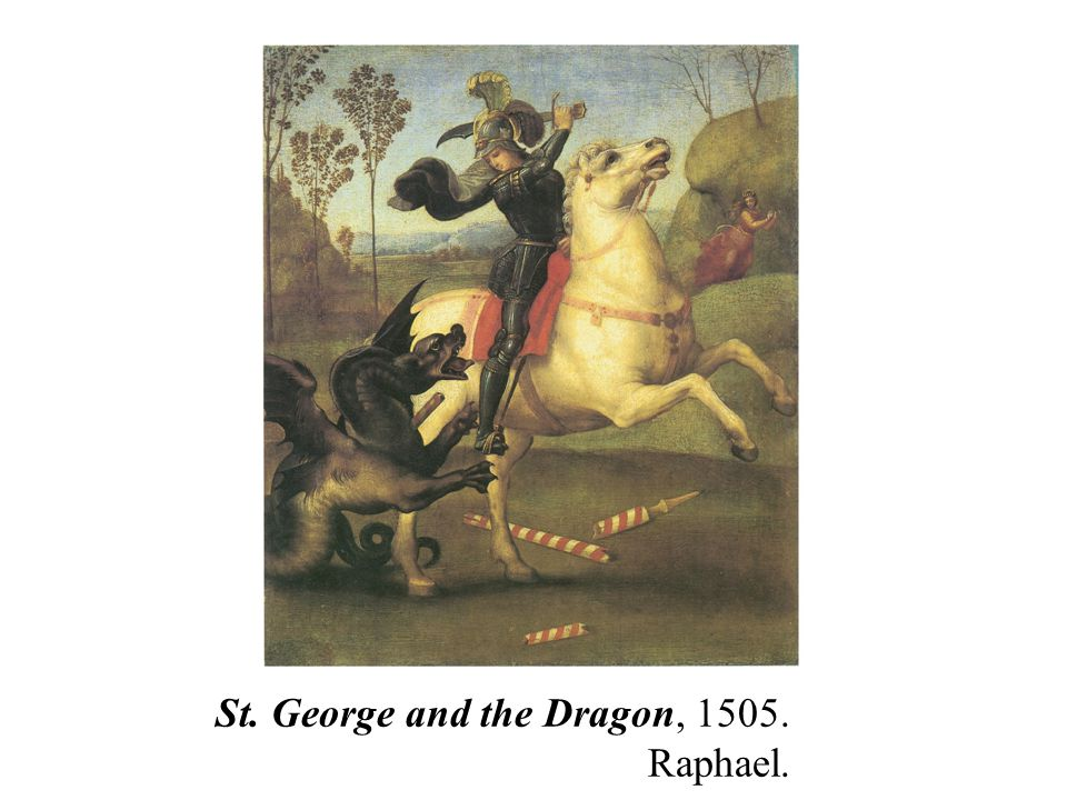 St. George and the Dragon, 1505. Raphael.