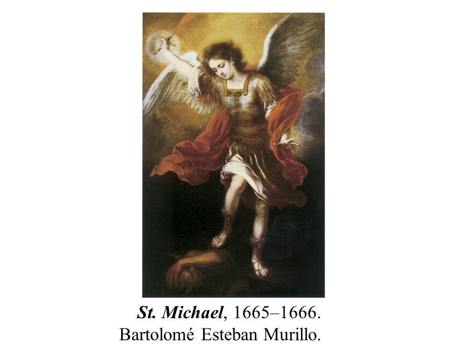 St. Michael, 1665–1666. Bartolomé Esteban Murillo.