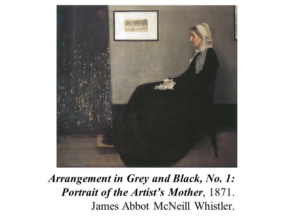 Arrangement in Grey and Black, No. 1: Portrait of the Artist's Mother, 1871.
