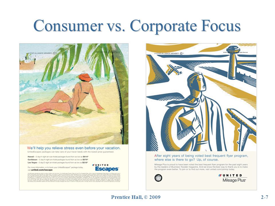 Prentice Hall, © 20092-38 Integrated (Holistic) Marketing Focused on better coordinating all marketing efforts to maximize customer satisfaction All areas of the marketing mix work together to present the brand in a coherent and consistent way.