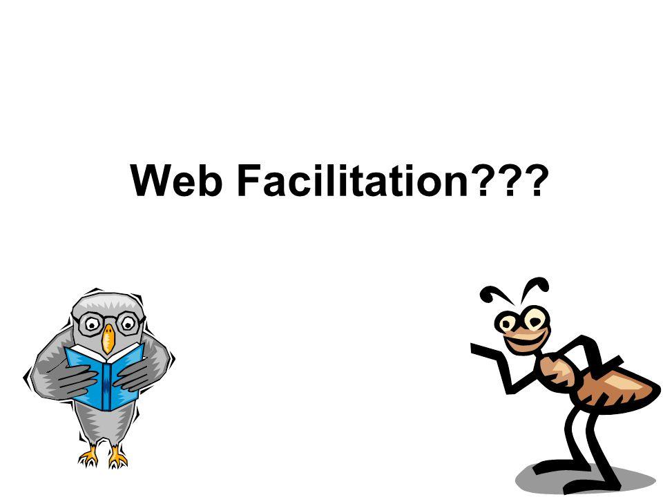 Web Facilitation???
