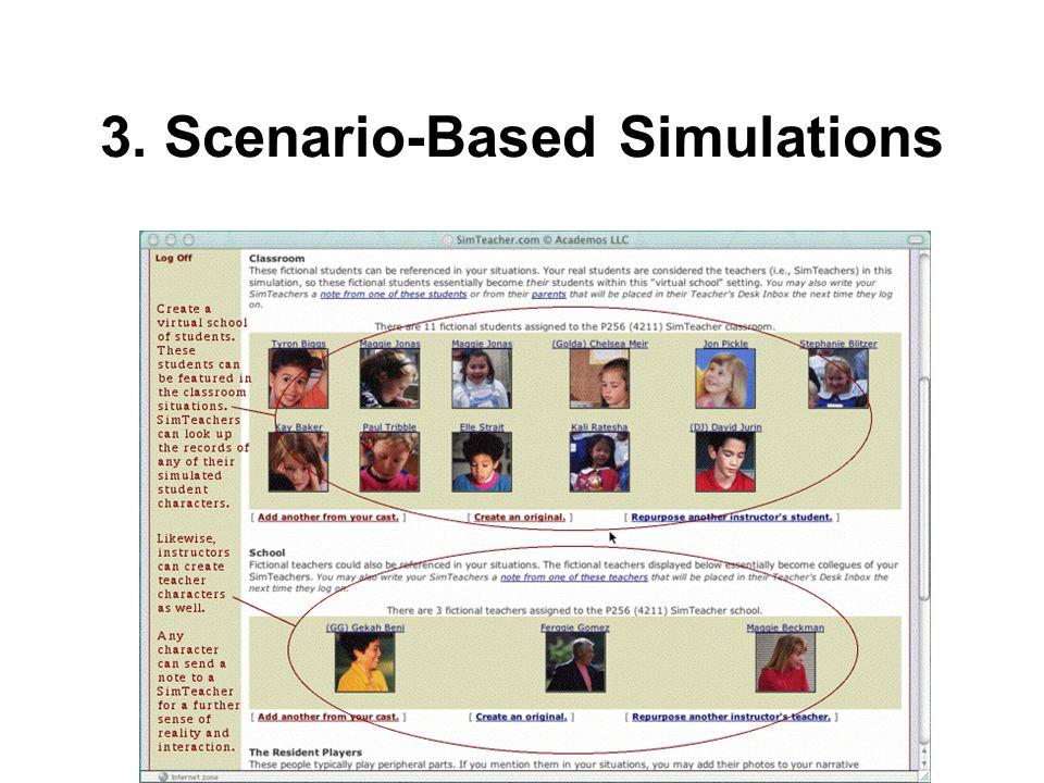 3. Scenario-Based Simulations