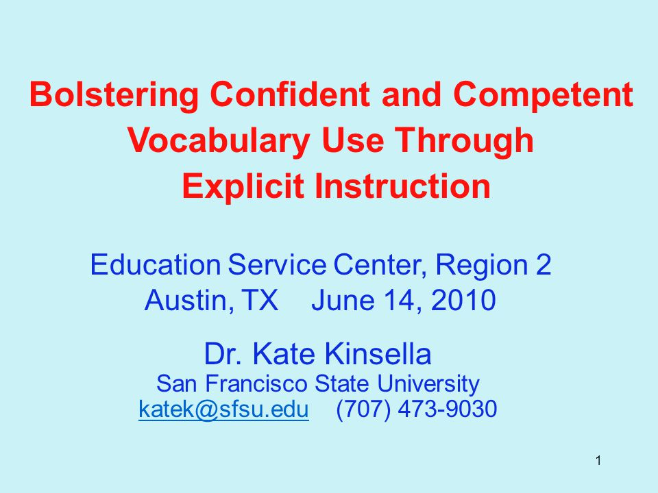 32 Explicit Vocabulary Teaching Routine  Guide students in reading and pronouncing the word a few times.