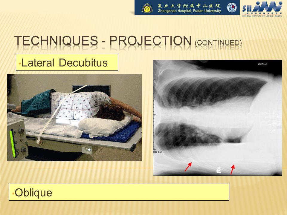 Lateral Decubitus Oblique