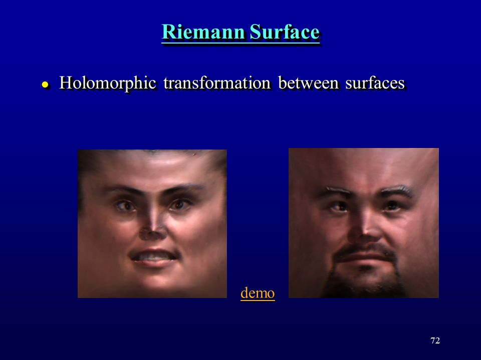 72 Riemann Surface l Holomorphic transformation between surfaces demo