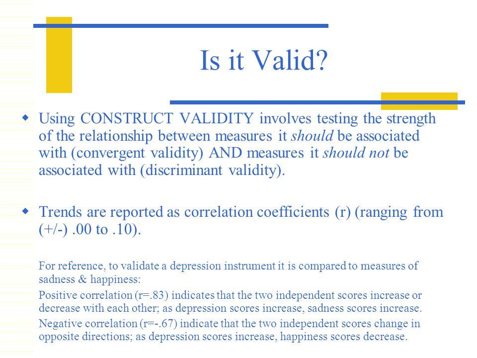 Is it Valid.