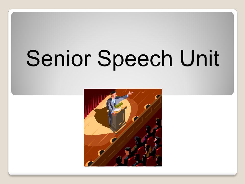 Senior Speech Unit