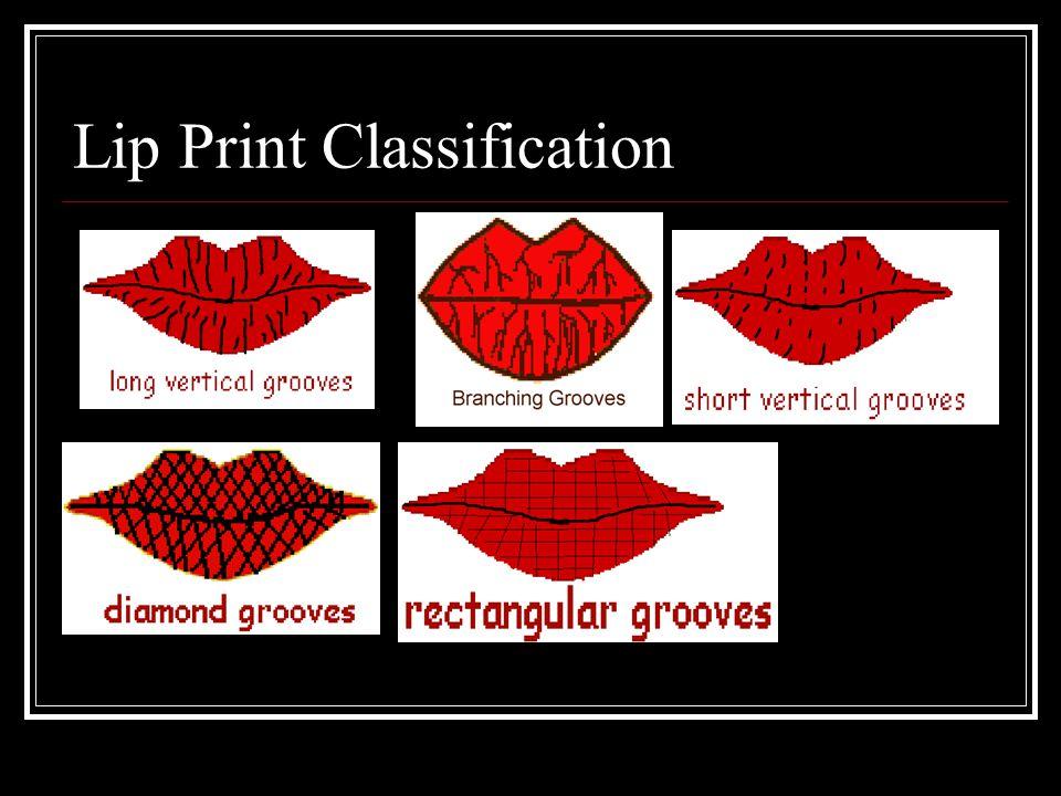 Lip Print Classification