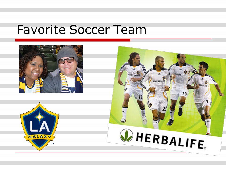 Favorite Soccer Team