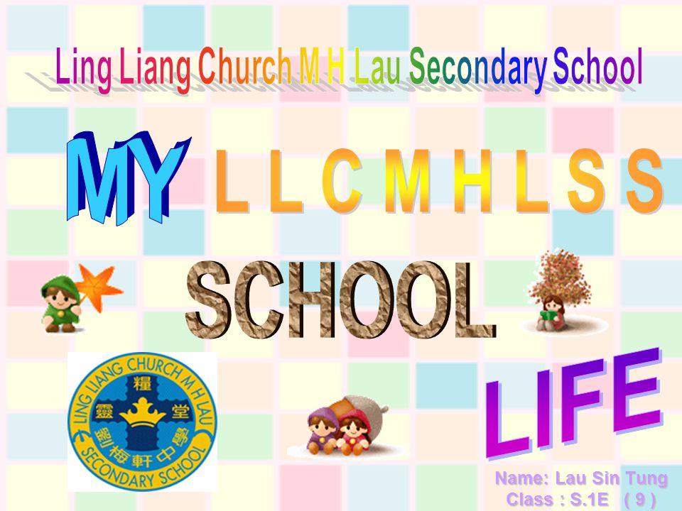 Name: Lau Sin Tung Class : S.1E ( 9 )