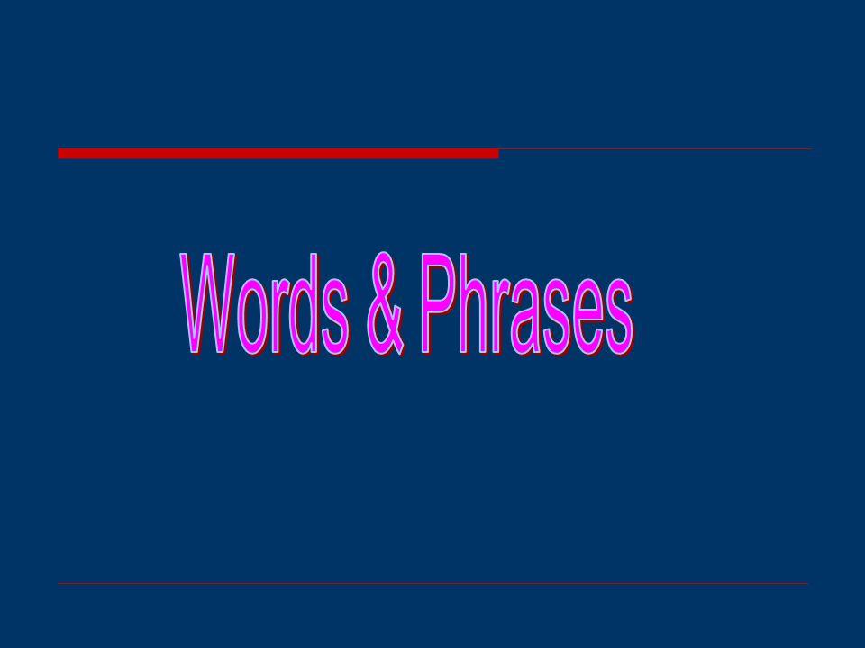 Sentence Study 5.