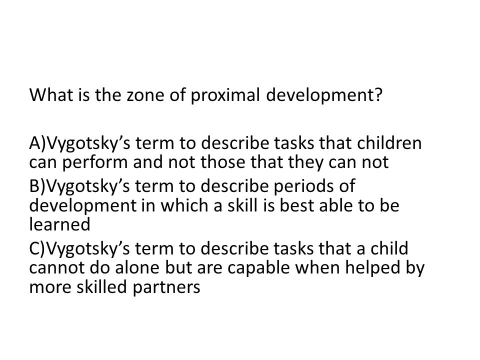 Based on Erikson's ideas, which is these is the best way to promote autonomy in a toddler.