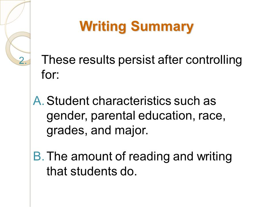 Writing Summary 2.