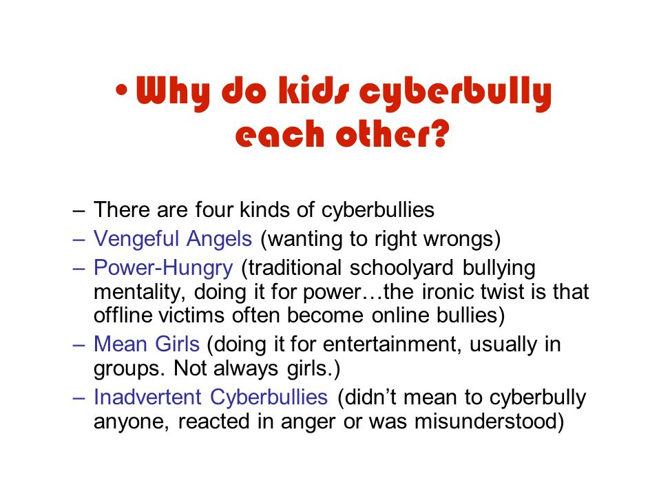 What is the Impact of Cyberbullying.