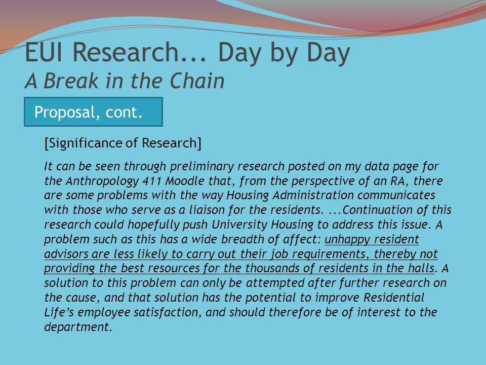 EUI Research...